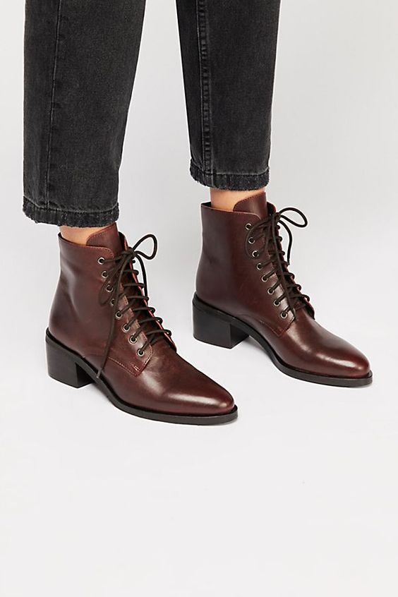 Ботильоны на шнуровке - самая модная модель обуви 2019-2020 года | Новости моды