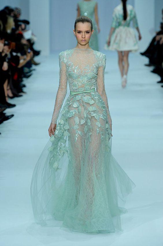 ELIE SAAB.        Elie Saab Haute Couture SS 2012 - Josephine Skriver. I LIVE for Elie Saab.