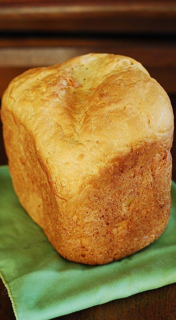 How to make basic white bread in a bread machine less dense   JuliasAlbum.com