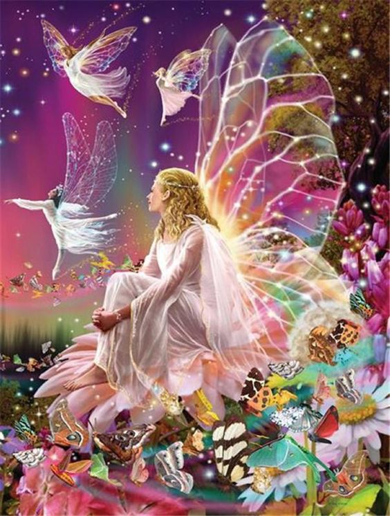 Fairy Dance Cross Stitch Pattern Counted Cross Stitch Chart, Pdf Format, Instant Download /198264 by icrossstitchpattern on Etsy