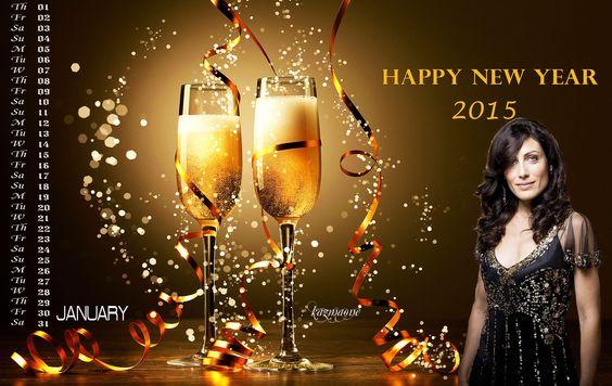 January 2015 calendar - Lisa Edelstein