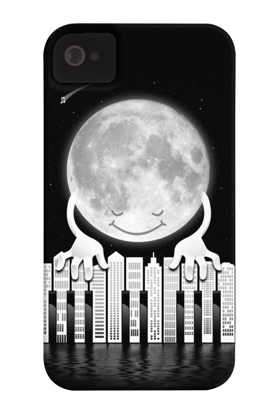 'City Tunes' Phone Case for iPhone 4/4s,5/5s/5c, iPod Touch, Galaxy S4