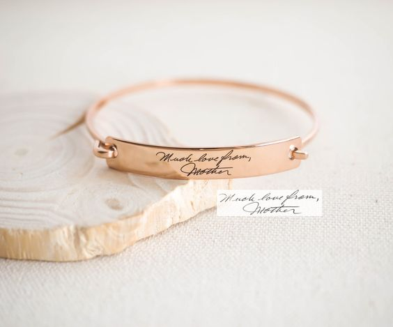 HOLIDAY SALE 40% OFF Handwriting Jewelry by CaitlynMinimalist