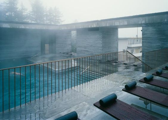 Europas schönste Thermen Wellness und Spa Therme vals, Peter - spa und wellness zentren kreative architektur