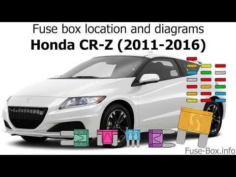 Fuse Box Info Youtube Fuse Box Honda Cr Honda