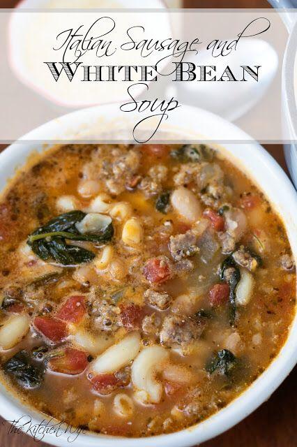 Italian Sausage and White Bean Soup Recipe