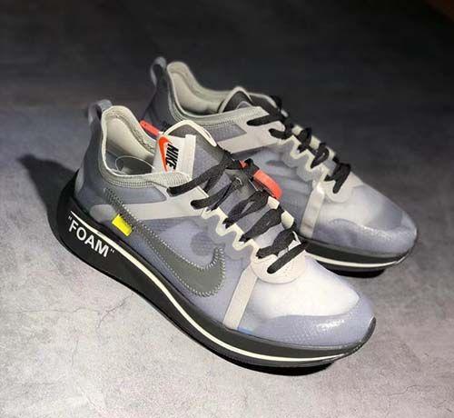 Off White x Zoom Fly SP Black Grey AJ4588 002   신발
