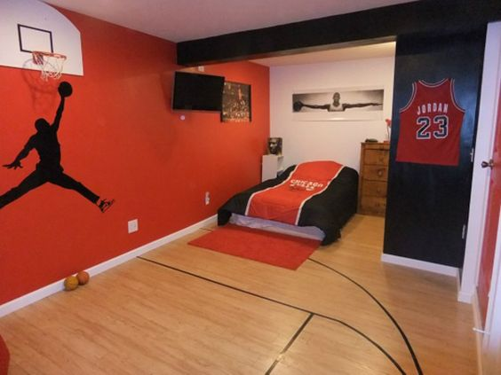 Basketball Bedrooms Basketball Bedrooms For Boys Google Search Sports Home