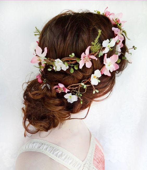 accessoires de la mari e boutique de couronnes de fleurs mariage fleur et couronnes de. Black Bedroom Furniture Sets. Home Design Ideas