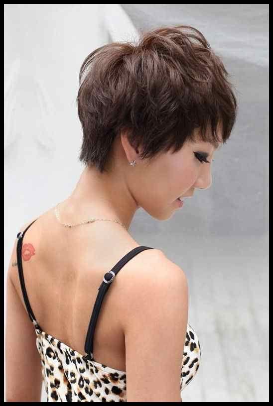 Weibliche Kurze Frisuren Foto 10 Haare Pinterest Frisur Frisuren Tutorials Frisur Fotos Pinterest Frisuren Frisuren Kurz
