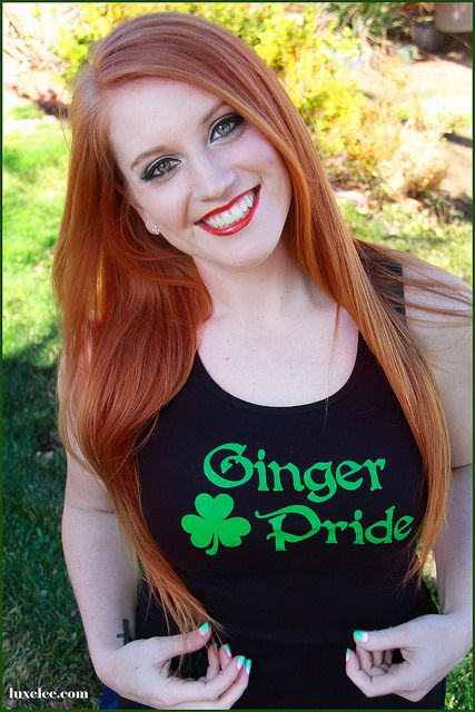 redhead...love this shirt