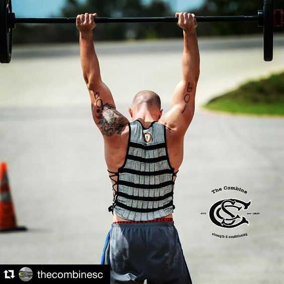"Add a #Hyperwear #HyperVestPRO to any #WOD for added intensity #WeightVest #BestWeightVest #Bowen  #Repost @thecombinesc ・・・ 8/7 WOD ""Bowen"" Rounds -800m Run -7 Deadlifts Rx 275/205 -10 Burpee Pull-ups -14 SA KB Thrusters Rx 53/35 (7/arm) -20 Box Jumps Rx 24""/20""  _____________________  Captain Jeffrey Bowen, of Alexander, North Carolina, died July 28, 2011. The 37-year-old was a 13-year veteran of the Asheville Fire Department, assigned to Rescue 3. Bowen was fatally injured while fighting"