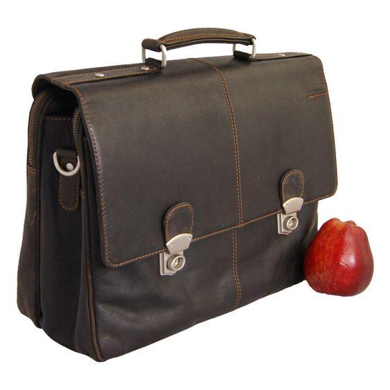 Schulter- & Tragetaschen - Aktenmappe Leder MEITNER Briefcase - ein Designerstück von Ledertaschenshop24 bei DaWanda