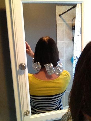 Plancha tu cabello con papel aluminio *:) obtendras los mejores rizos!