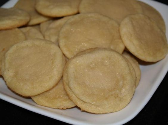 Easy Sugar Cookies from Food.com:   Quick and easy sugar cookies. This quick and easy sugar cookie recipe is perfect for any occasion, and can be made with just the basic ingredients you already have in your cupboard.