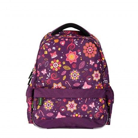 Sac à dos M. Le sac à dos Tann's très pratique et « fashion ». Pour les filles uniquement ! 1 compartiment pouvant accueillir les grands classeurs. Adapté pour les classes du CE1 au collège ou comme sac de sport. 44,90€
