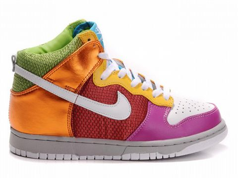 Moda Kulvar | Nike | Nike Dunk | Nike Dunk High 6.0 Premium Metallic Rainbow