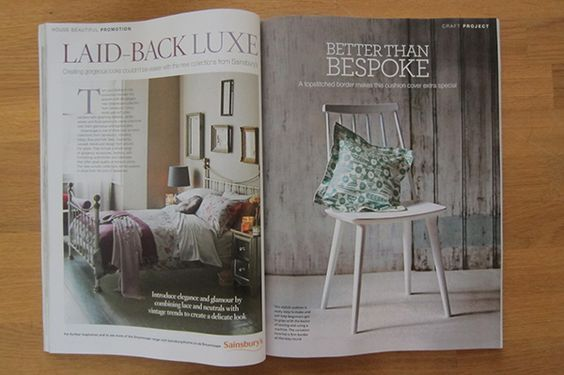 Learn to Sew with Lauren projects spotted in lovely magazines Blog: Learn to Sew with Lauren | Guthrie & Ghani