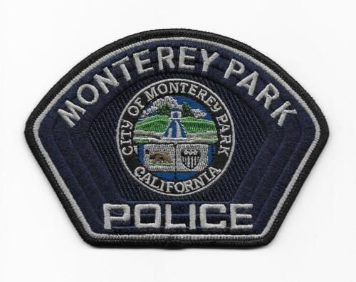 MONTEREY PARK CALIFORNIA FIREMAN FIRE BADGE PIN