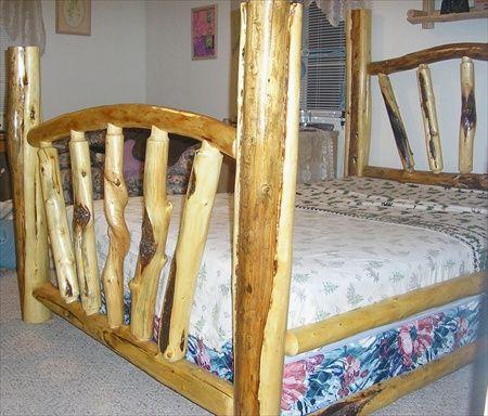 Custom Sunburst Bed
