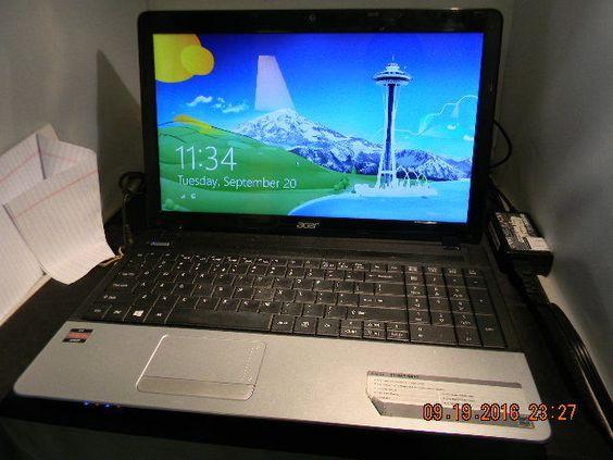 """Acer Aspire E1-521-0851 15.6"""" (500GB AMD E1-1200 1.4GHz 4GB)"""