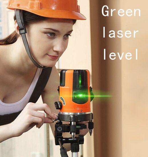 Us 79 86 Fukuda 360degree Self Leveling Cross Laser Level Green Hot Sale Laser Level Tools 360degree Cross Fukuda Green Laser Level Leveling Sale