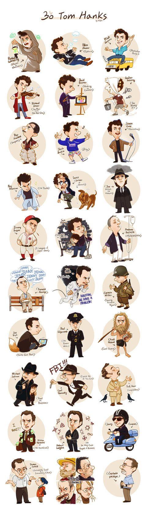 30 Tom Hanks ❤️