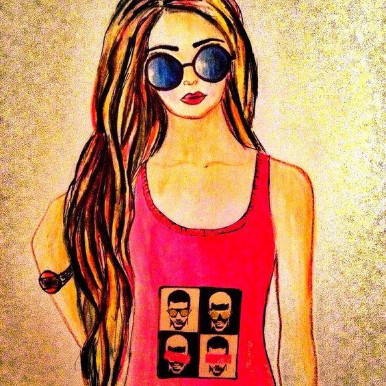 #fashionillustration #sketchbook #newlook #stylegirl #sunglasess #more #inspirations #favorite #fashiontips #trends #streetstyle #lookbooks #colorful #beauty #illustration #drawing #newarpfashion