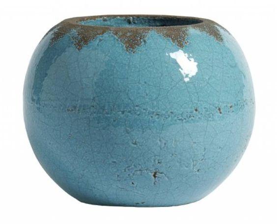 Nordal Stone pot turkoois - Tutze