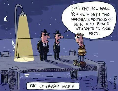 Thugs of the book world  #lol #humor #funny