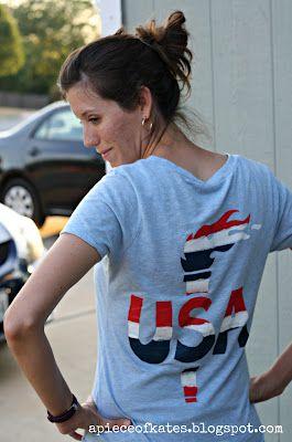 DIY olympic shirt