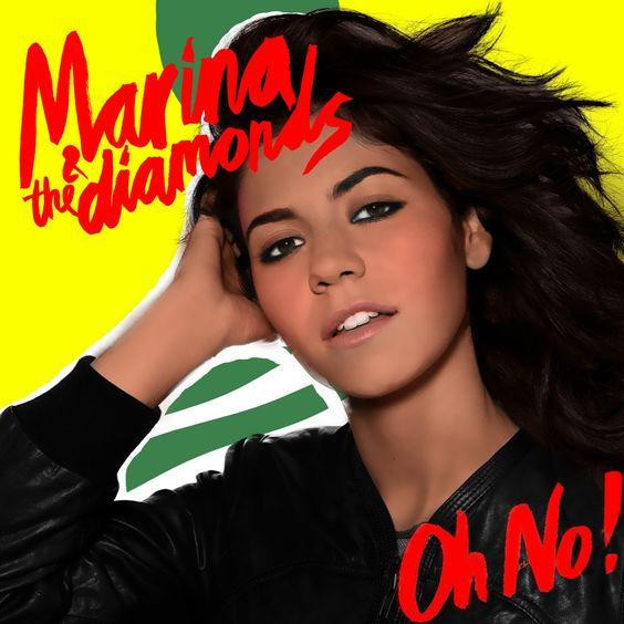 Marina and the Diamonds – Oh No! (single cover art)