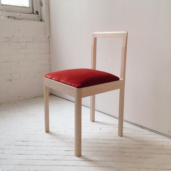 Custom Upholstered Furniture Makers #16: Densen Chair | Custom Upholstery