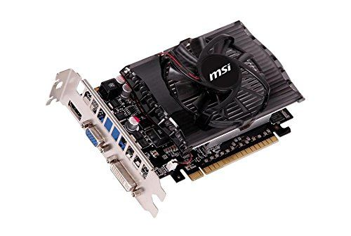 MSI N730-2GD3 Carte graphique Nvidia GeForce GT 730 700 MHz 2048 Mo PCI-Express