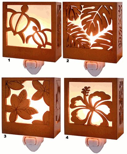 Hawaiian Tropical Nightlights...would Be Cute In A Beach