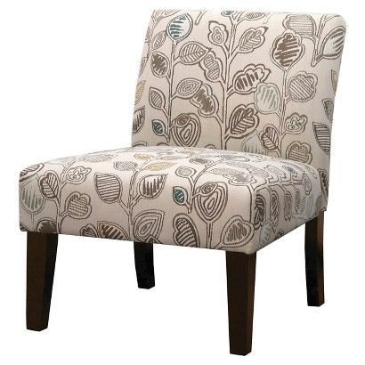 Avington Upholstered Slipper Chair   Chancy Fresco