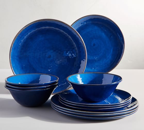 Mason 16 Piece Dinnerware Set Pottery Barn In 2020 Melamine Dinnerware Sets Dish Sets Dinnerware Dinnerware Set