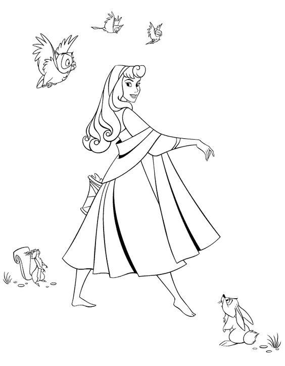 Dibujos para Colorear Disney 288