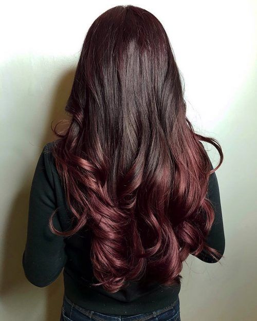 30 Best Dark Red Hair Color Ideas 2020 Pictures Hair Color Mahogany Mahogany Hair Dark Mahogany Hair