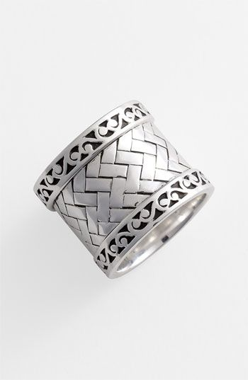 Lois Hill 'Basket Weave' Cigar Band Ring available at #Nordstrom
