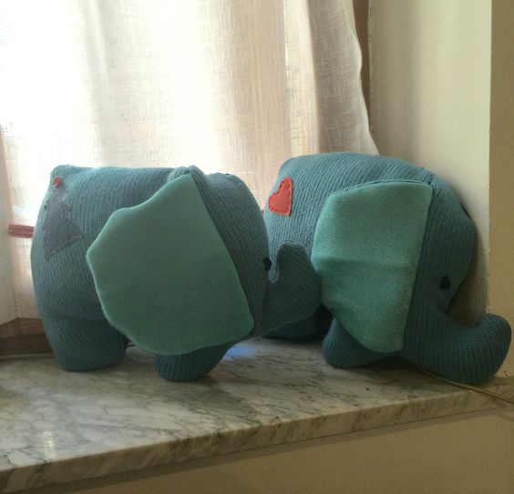 Idea cuscino elefante