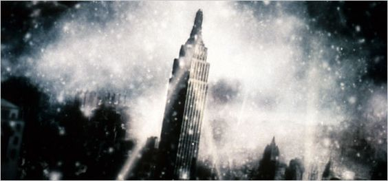 """The Empire State Building. NY Times story: """"75 Years Ready (or Not) for Its Close-Up"""""""