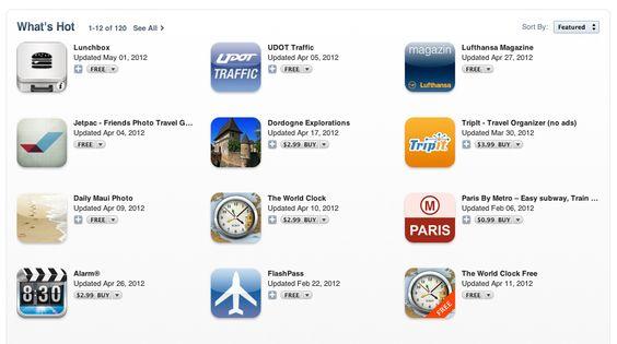 What's Hot? Jetpac. Apple features Jetpac as Hot Travel iPad App #tech #travel #app #iPad