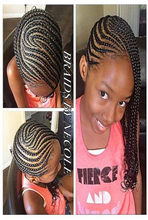 Kids New Trends Hair Styles 2019 Kids Braided Hairstyles Lil