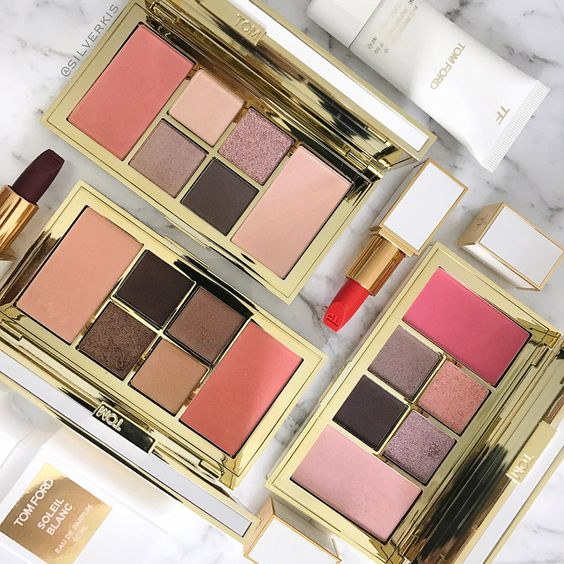 Tom Ford Soleil Eye & Cheek palettes