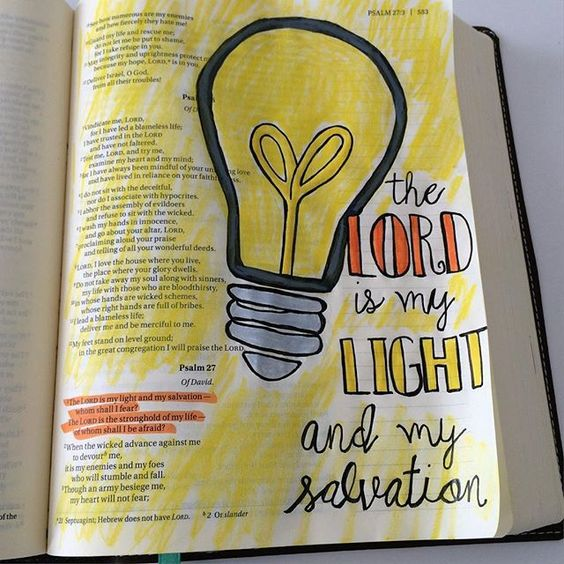 He is my Light and Salvation