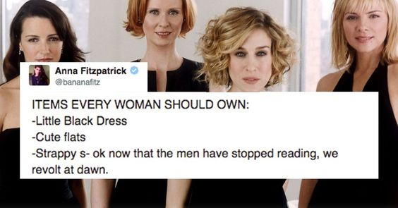 18 Tweets Just for the Ladies