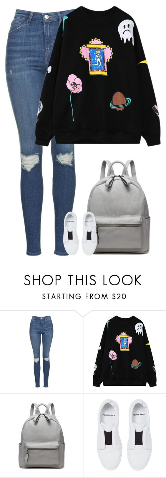 """Gigi"" by fanny483 ❤ liked on Polyvore featuring Topshop, Chicnova Fashion and Pierre Hardy"