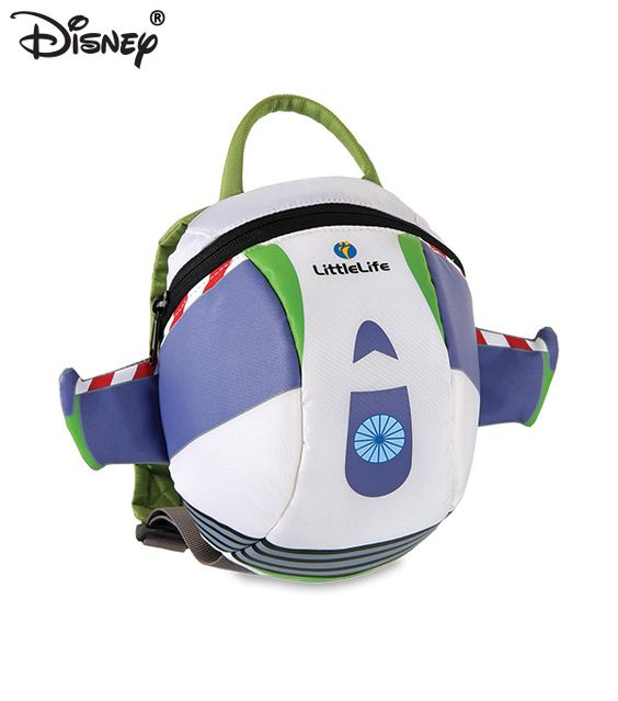 The Disney Buzz Lightyear Backpack with rein is for toddlers who like adventure and parents who want to keep hold of them.