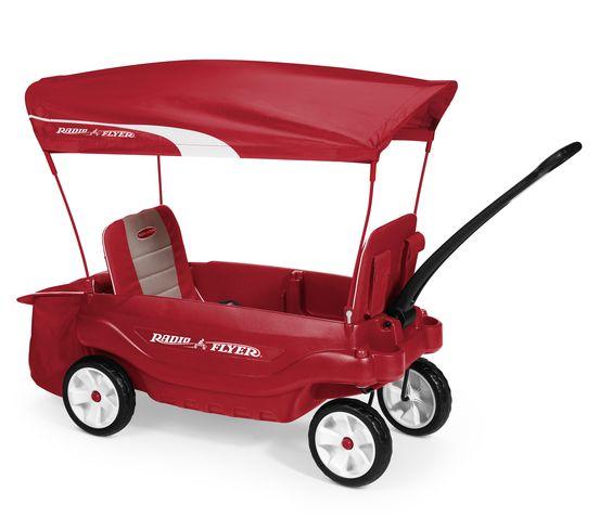 Radio Flyer Ultimate Comfort Wagon With Images Best Wagons Radio Flyer Radio Flyer Wagons